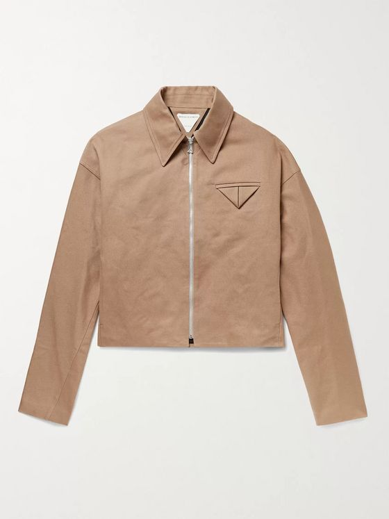 BOTTEGA VENETA Cotton-Twill Blouson Jacket