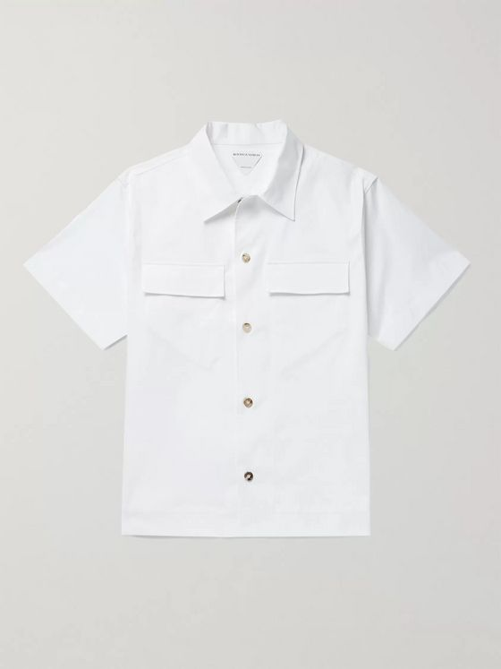 BOTTEGA VENETA Stretch-Cotton Shirt