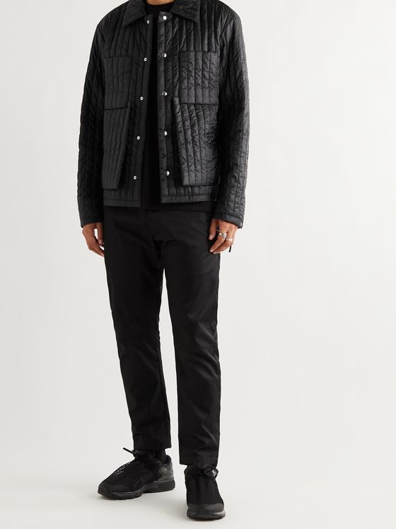 CRAIG GREEN Quilted Padded Shell Jacket