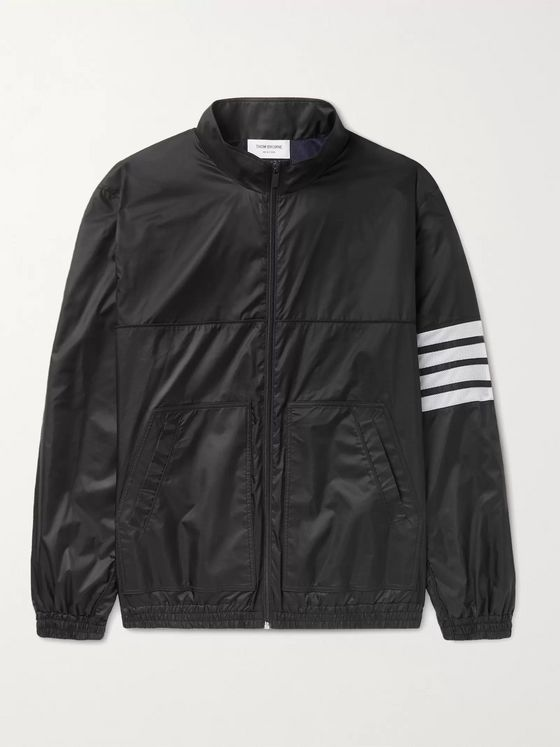 THOM BROWNE Striped Ripstop Track Jacket