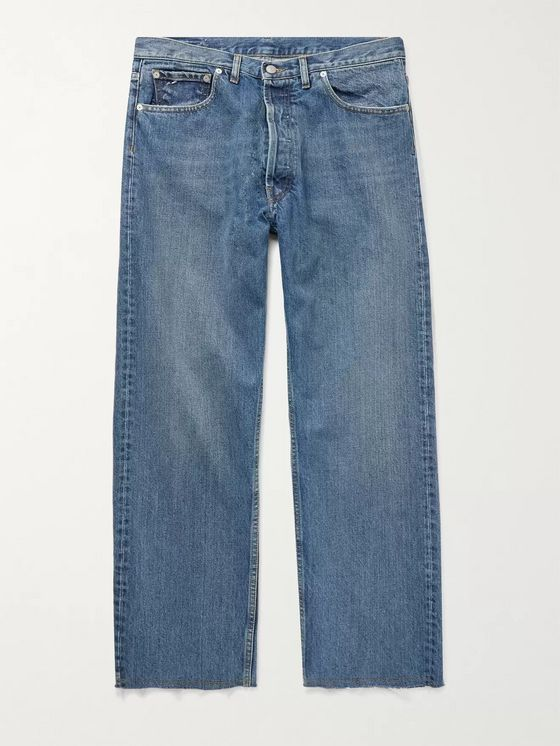 MAISON MARGIELA Cropped Denim Jeans