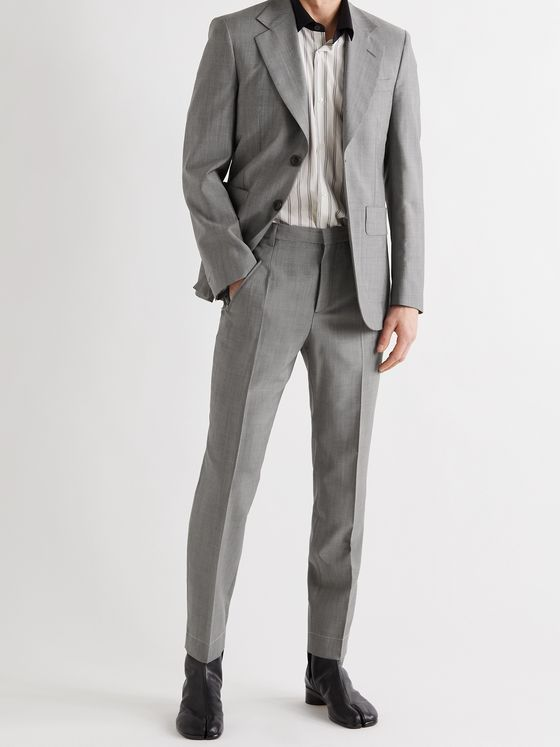 MAISON MARGIELA Slim-Fit Wool and Mohair-Blend Suit