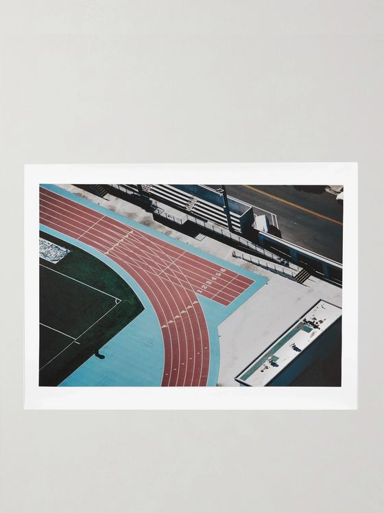"Pieces + Karl Hab Track Print, 18"" x 24"""