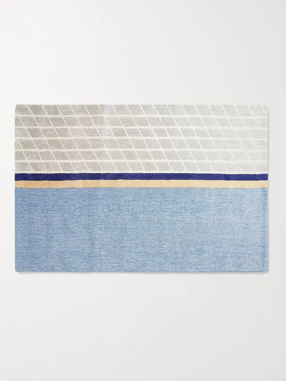 Pieces Net Patterned Rug, 4' x 6'