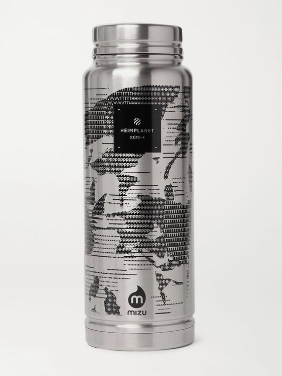 HEIMPLANET V12 Printed Stainless Steel Insulated Bottle, 1080ml