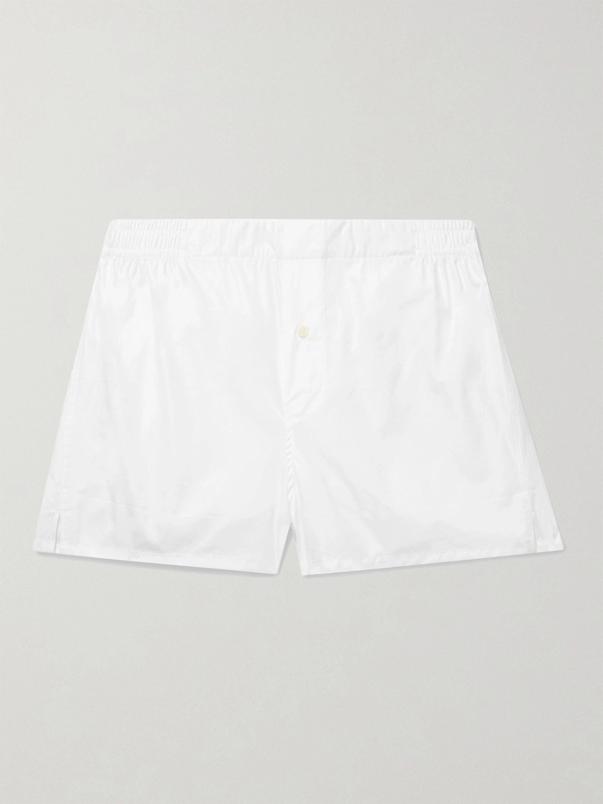 HAMILTON AND HARE Cotton Boxer Shorts