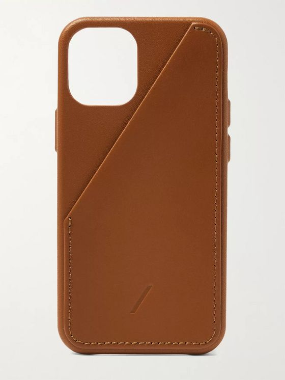NATIVE UNION Clic Card Leather iPhone 12 Mini Case