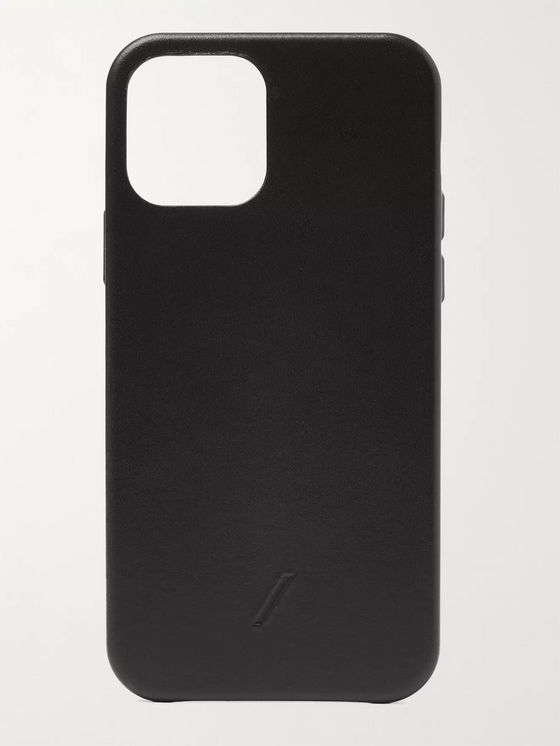 NATIVE UNION Clic Classic Leather iPhone 12 Case