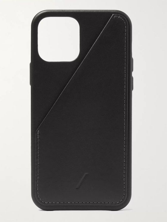 NATIVE UNION Clic Card Leather iPhone 12 Case