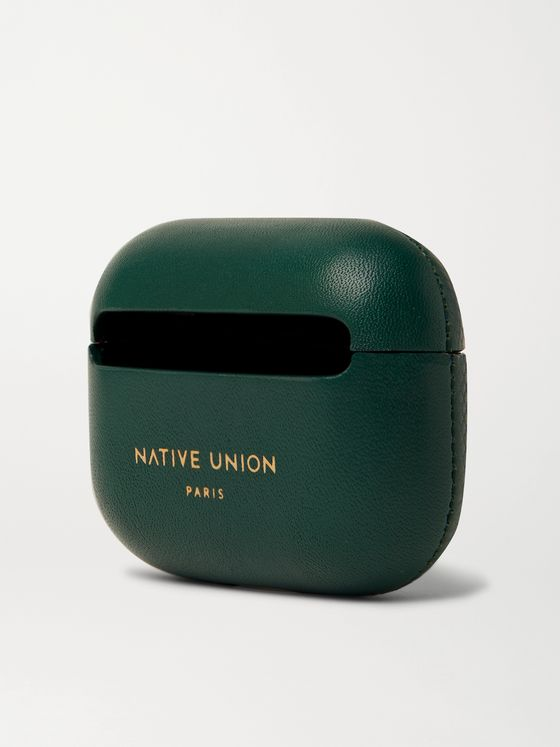 NATIVE UNION Heritage Textured-Leather AirPods Pro Case
