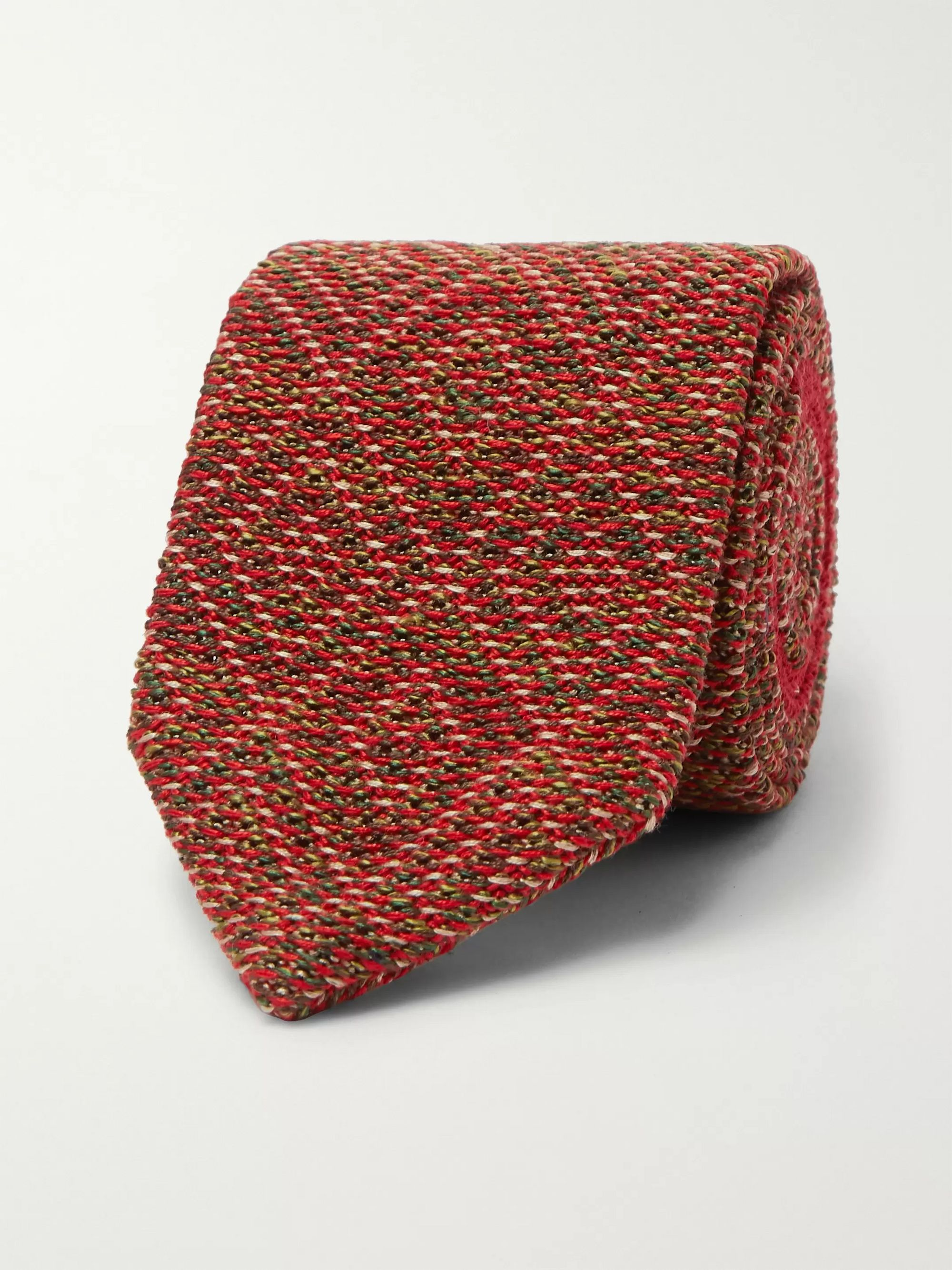 Missoni Knitted Wool and Silk-Blend Tie