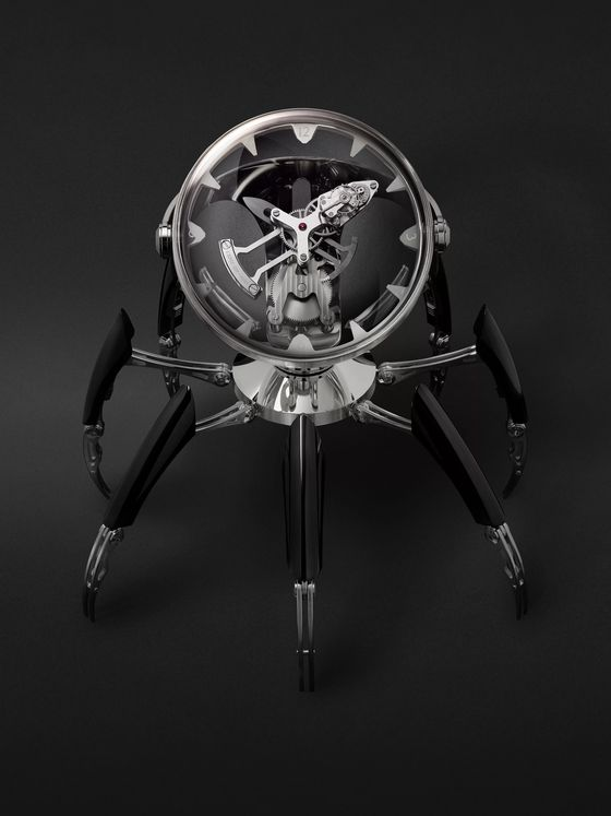 MB&F + L'Epée 1839 Octopod Hand-Wound Stainless Steel, Nickel and Palladium-Plated Table Clock, Ref. No. 11.6000/201