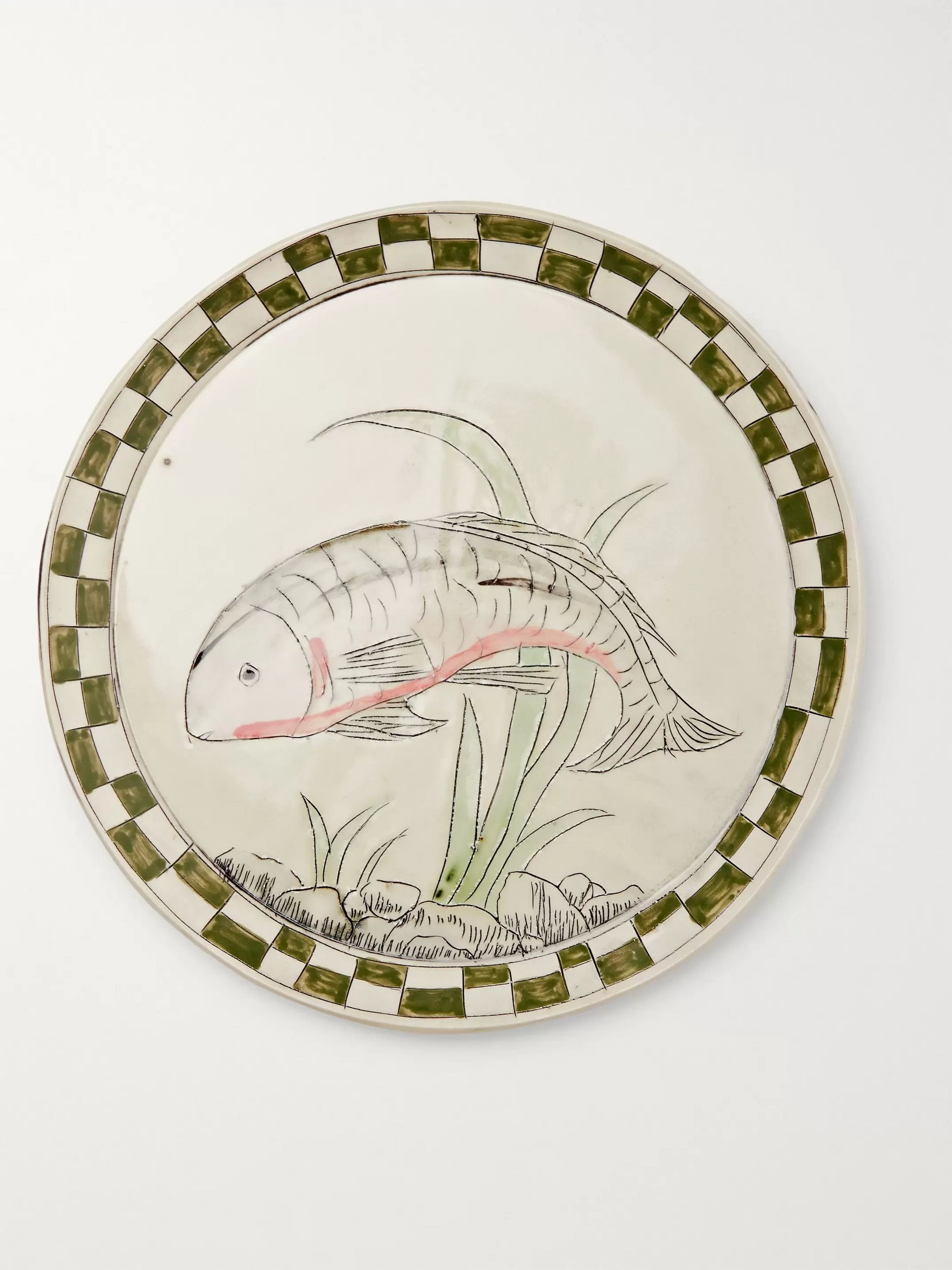 BODE + Botticelli Ceramics Painted Porcelain Plate