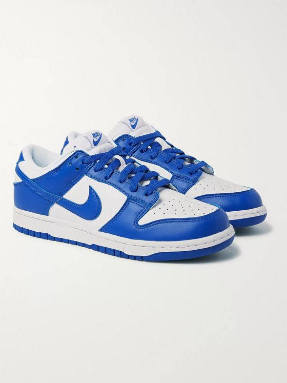 Nike Dunk Low Leather Sneakers