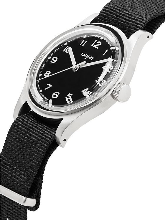 Merci LMM-01 Field 38mm Stainless Steel and NATO Webbing Watch