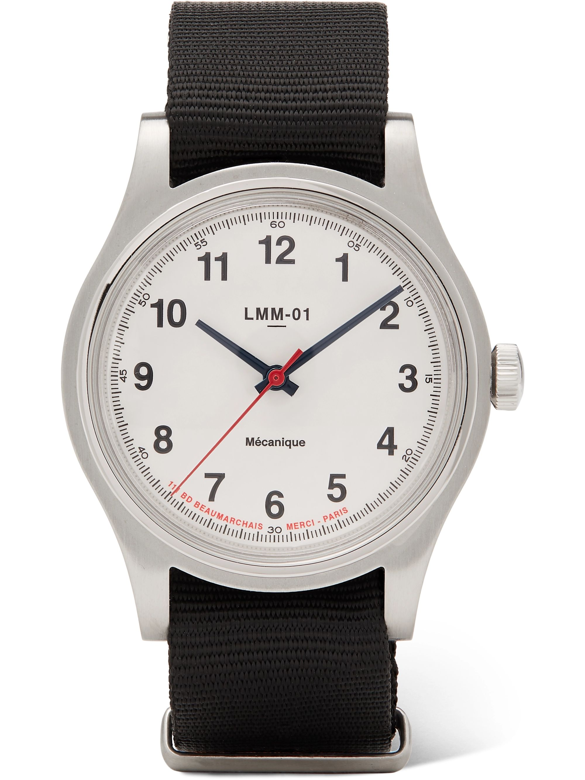 Merci LMM-01 Originals 37.5mm Stainless Steel and NATO Webbing Watch