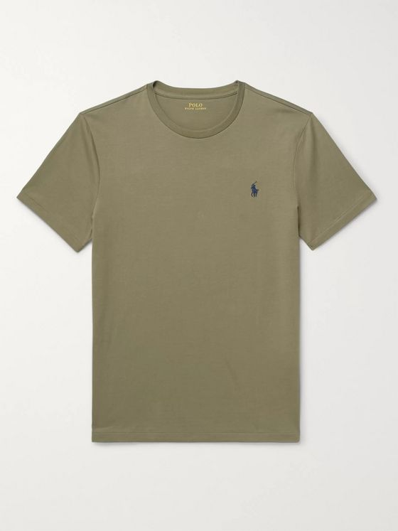 Polo Ralph Lauren Slim-Fit Cotton-Jersey T-Shirt