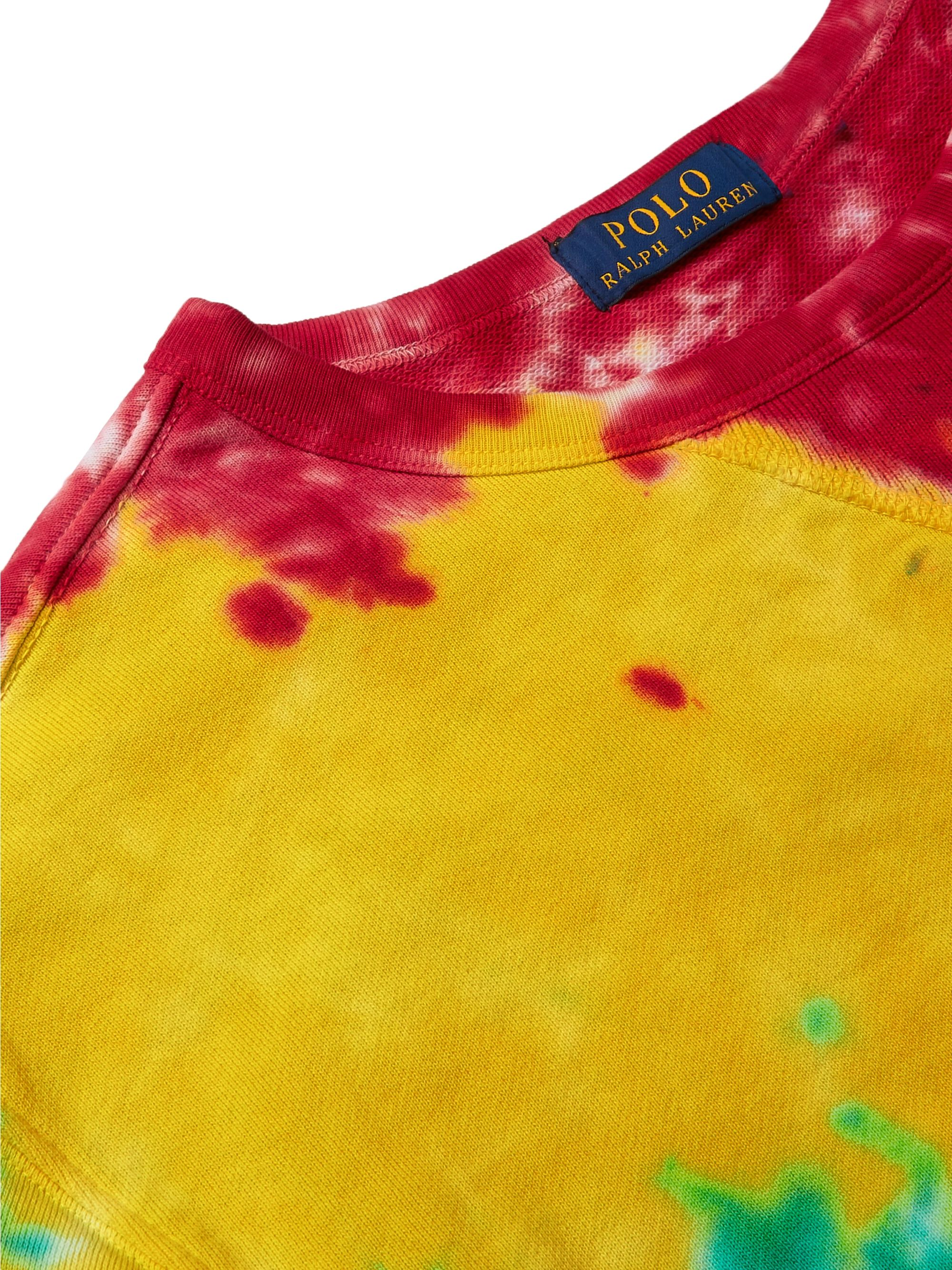 Polo Ralph Lauren Tie-Dyed Loopback Cotton-Jersey Sweatshirt