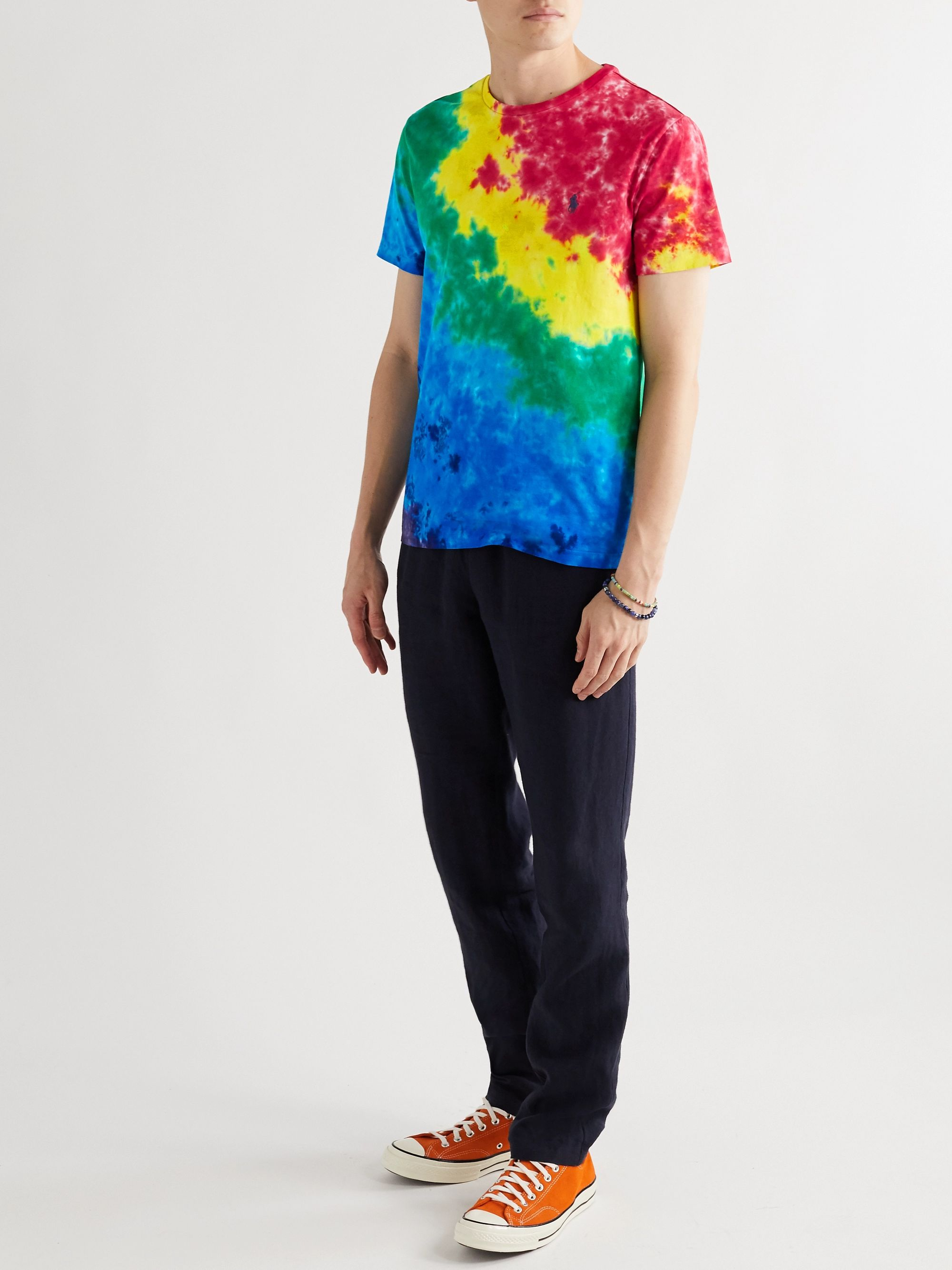 Polo Ralph Lauren Slim-Fit Tie-Dyed Cotton-Jersey T-Shirt