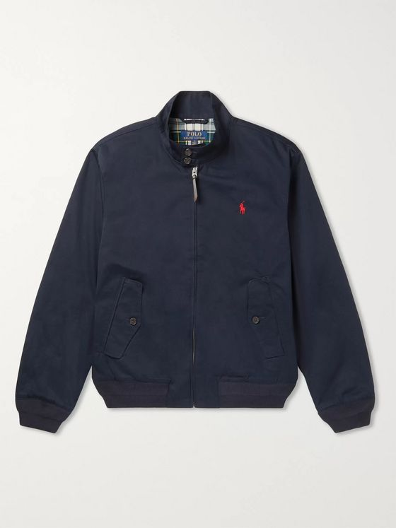 Polo Ralph Lauren Cotton-Twill Harrington Jacket