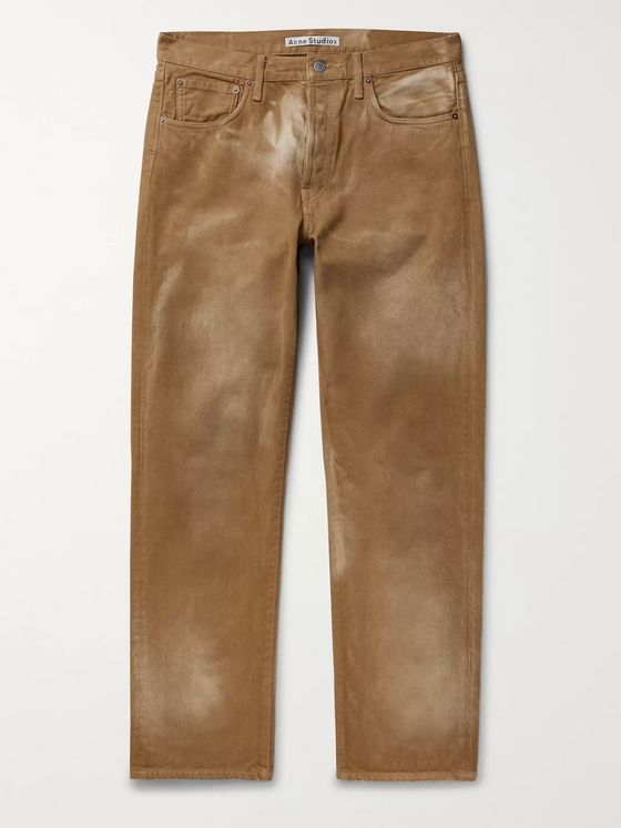 Acne Studios Faded Denim Jeans