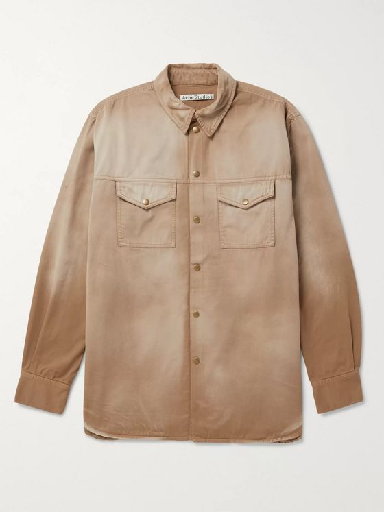 ACNE STUDIOS Faded Denim Overshirt
