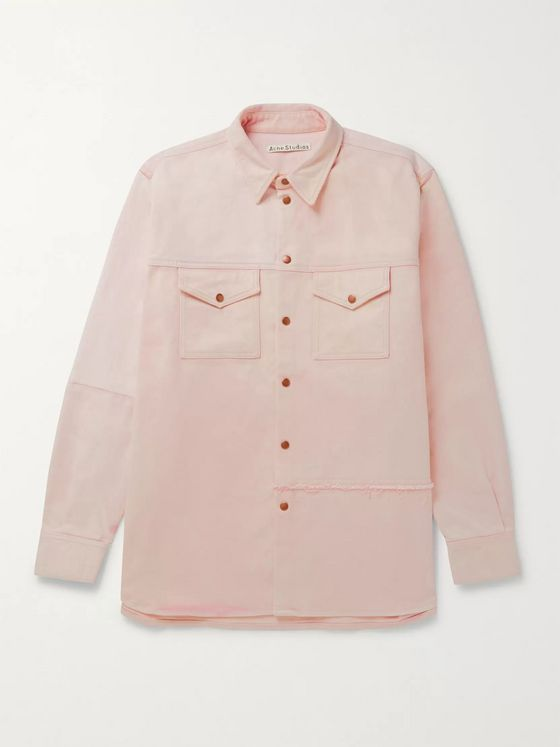 Acne Studios Panelled Denim Overshirt