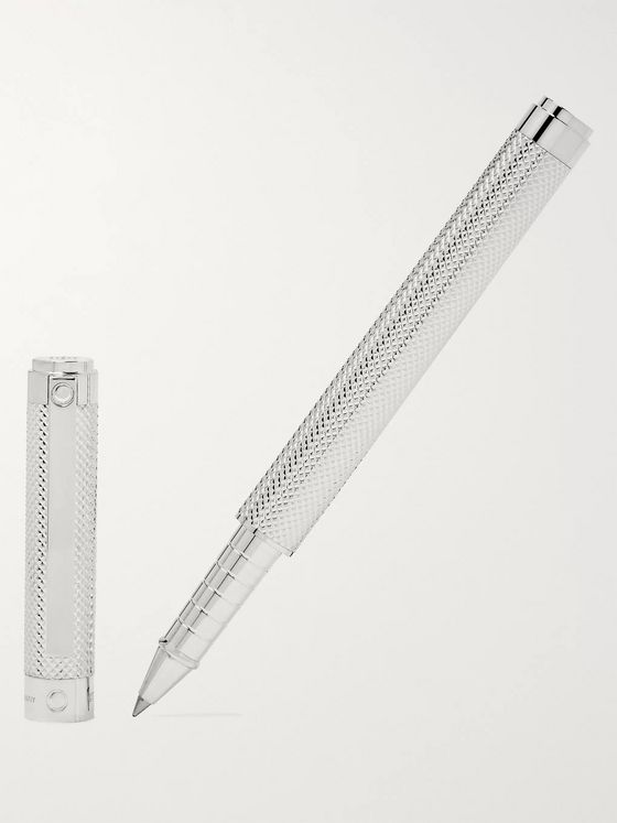 Tiffany & Co. Diamond Point Sterling Silver Rollerball Pen