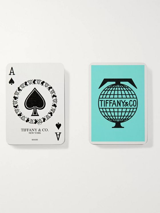 Tiffany & Co. Travel Two-Pack Playing Cards