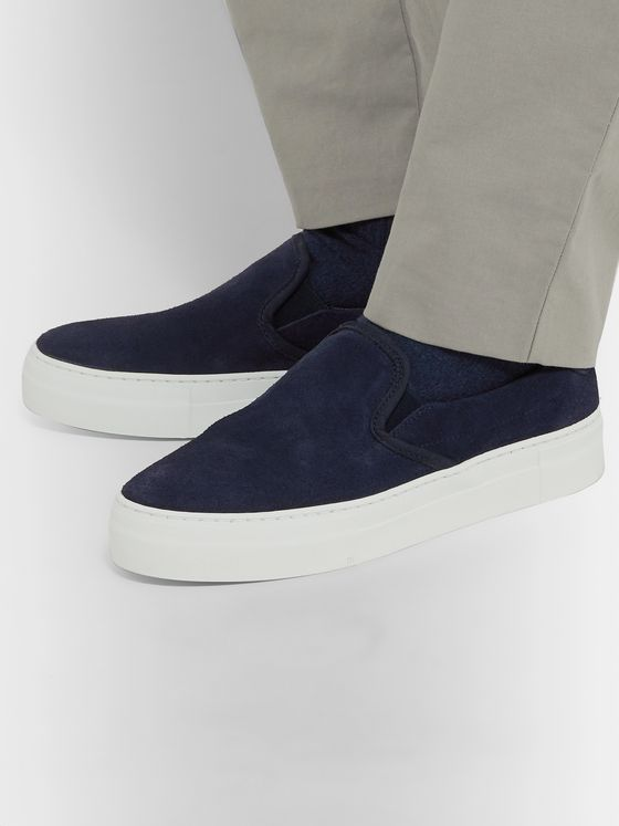 Diemme Garda Suede Slip-On Sneakers
