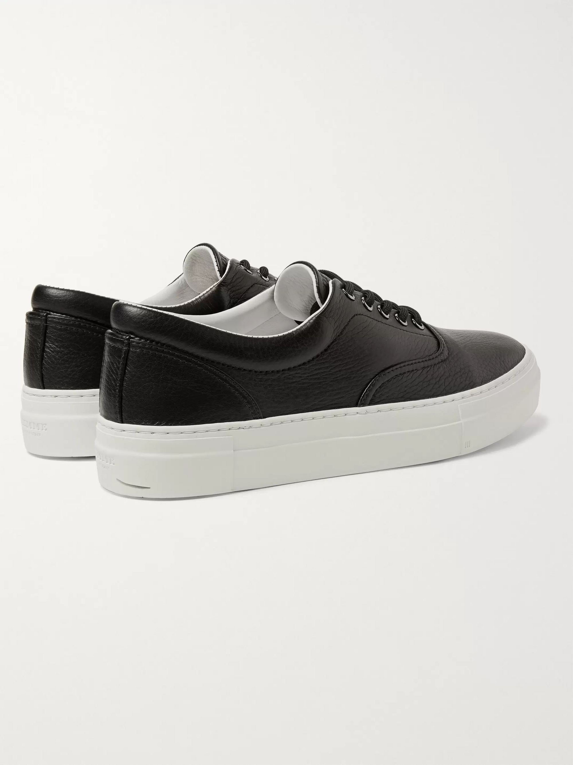 Diemme Iseo Textured-Leather Sneakers