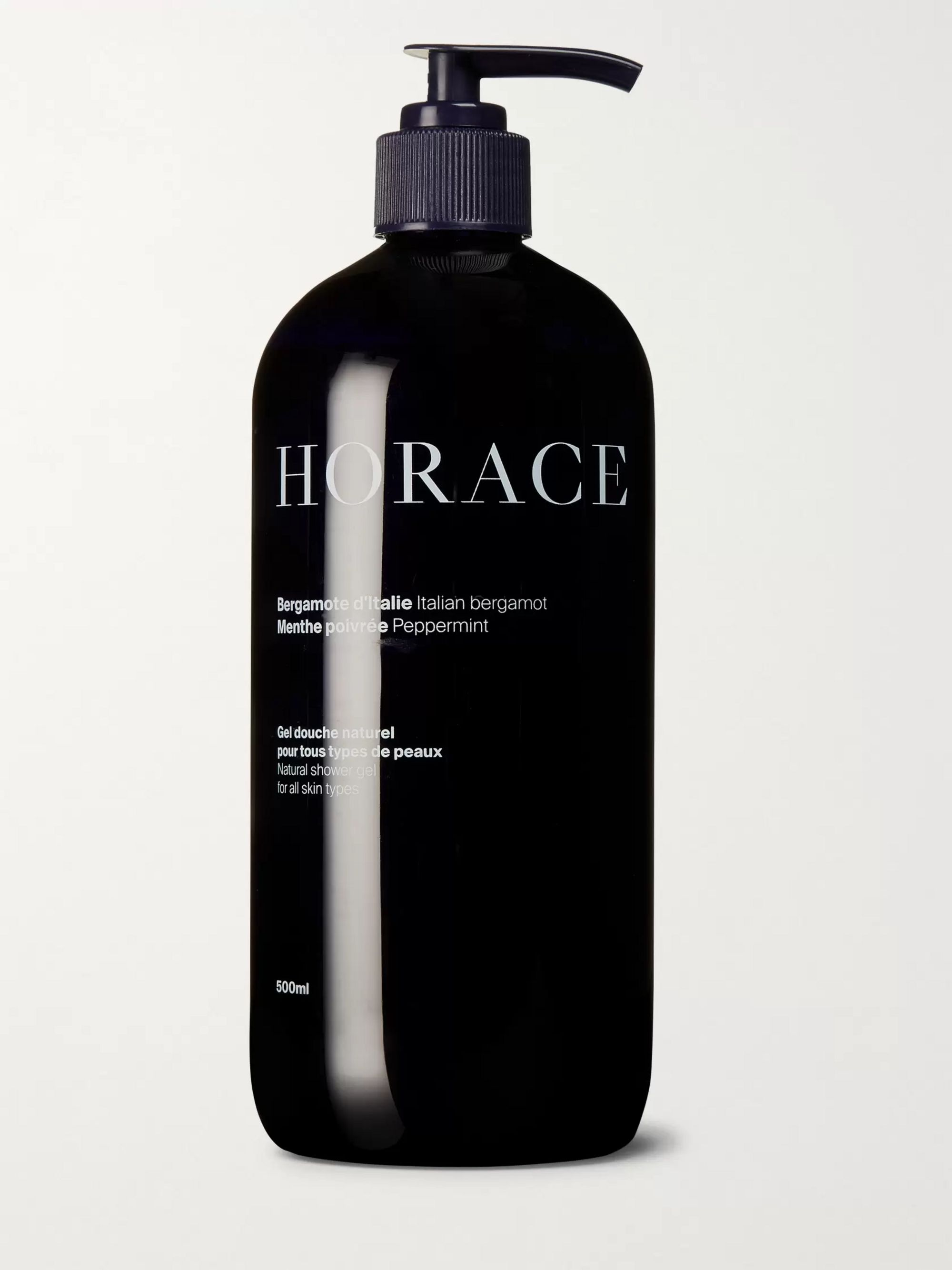 HORACE Shower Gel - Italian Bergamot and Peppermint, 500ml
