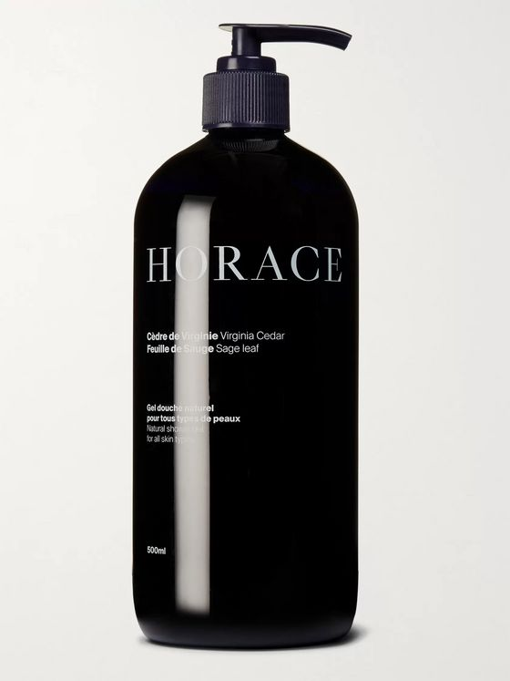 HORACE Shower Gel - Virginia Cedar and Sage Leaf, 500ml