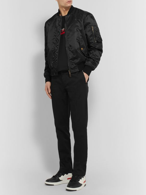 Givenchy Padded Shell Bomber Jacket