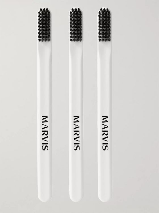 Marvis Set of Three Toothbrushes