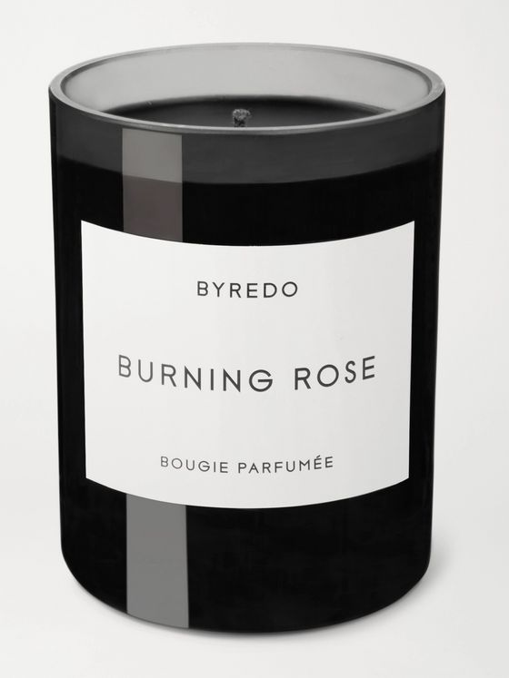 Byredo Burning Rose Scented Candle, 240g