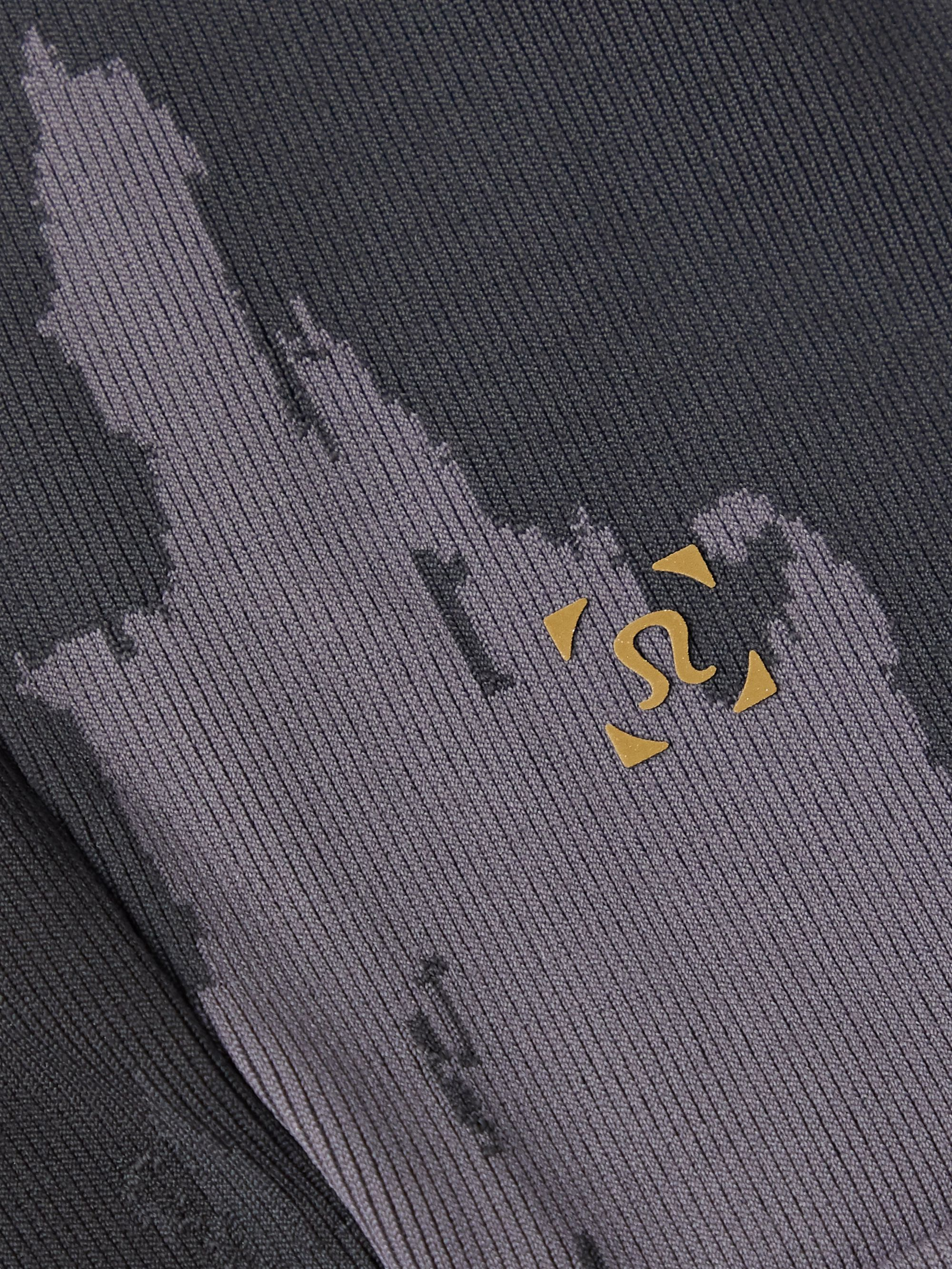 Lululemon + Robert Geller Take the Moment Slim-Fit Tapered Printed Full-On Luon Sweatpants