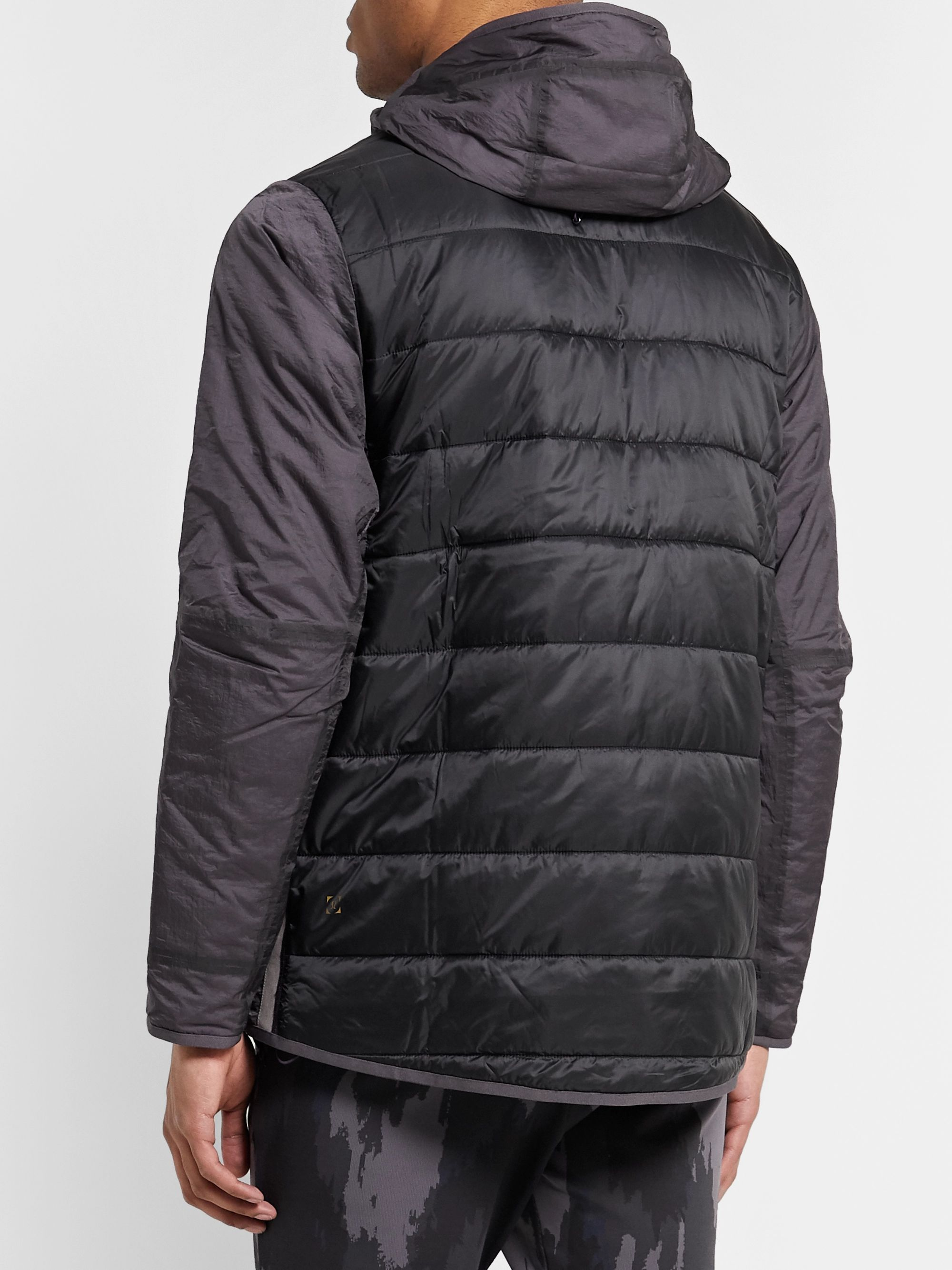Lululemon + Robert Geller Take the Moment Reversible Printed Quilted Nylon Jacket