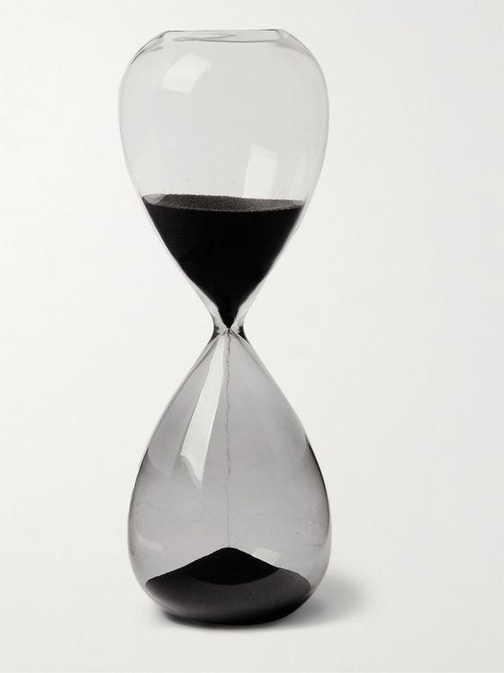 HAY 30-Minute Glass and Sand Hourglass