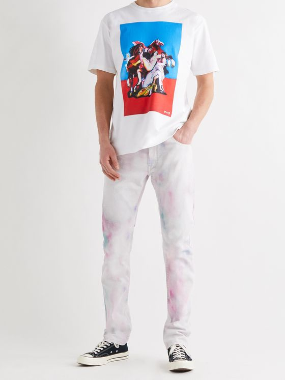 ENDLESS JOY + Jim Moir Turmoil Printed Cotton-Jersey T-Shirt