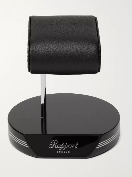 RAPPORT LONDON Formula Full-Grain Leather Watch Stand