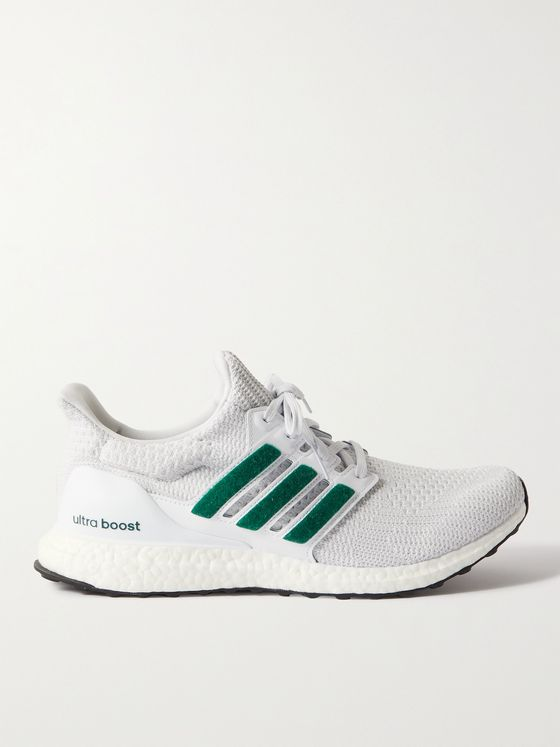 ADIDAS SPORT UltraBoost 4.0 DNA Rubber-Trimmed Primeknit Running Sneakers