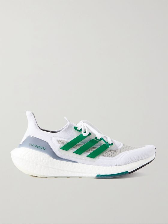 ADIDAS SPORT Ultraboost 21 Continental Rubber-Trimmed Primeknit+ Sneakers