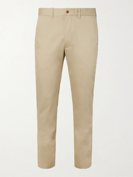 RLX Ralph Lauren Slim-Fit Cotton-Blend Golf Trousers