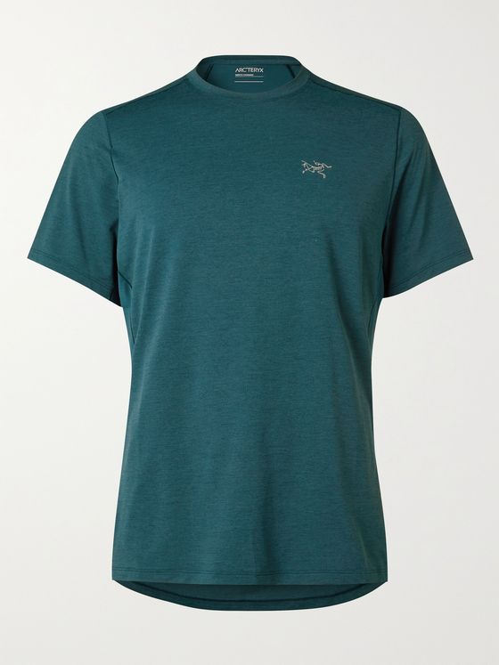 ARC'TERYX Cormac Comp Panelled Jersey and Mesh T-Shirt