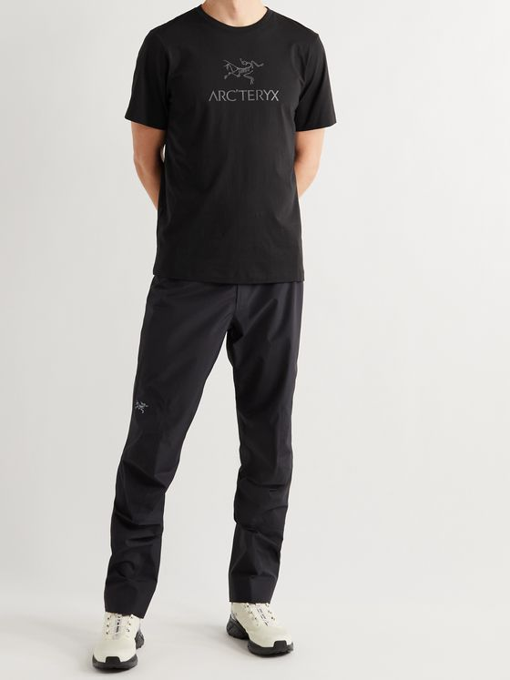 ARC'TERYX Arc'Word Logo-Print Organic Cotton-Jersey T-Shirt