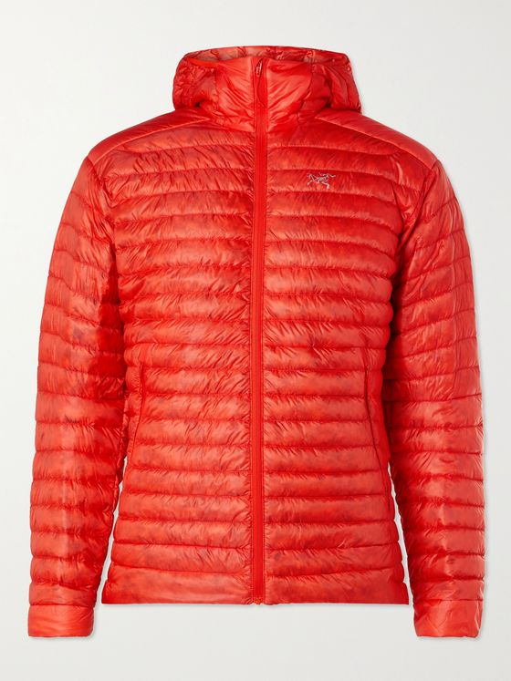 Arc'teryx Cerium SL Slim-Fit Packable Quilted Shell Hooded Down Jacket