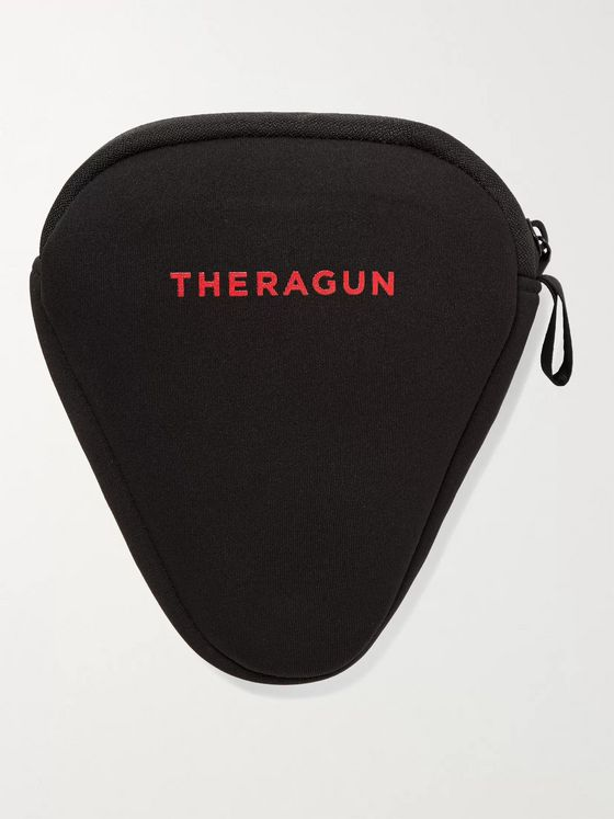 Therabody + (RED) Theragun Mini Portable Massager