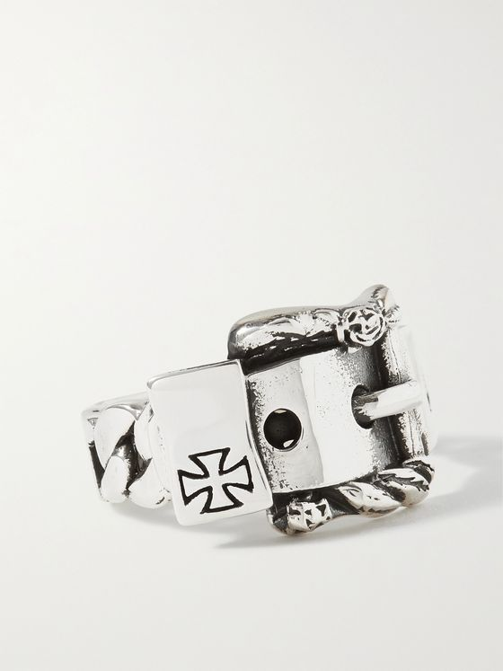 Enfants Riches Déprimés Sterling Silver Buckle Ring