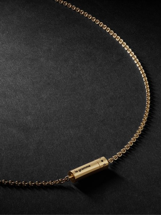 LE GRAMME 17g 18-Karat Gold Necklace